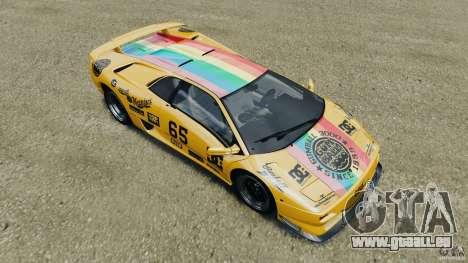 Lamborghini Diablo SV 1997 v4.0 [EPM] pour GTA 4 roues