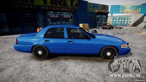 Ford Crown Victoria Detective v4.7 [ELS] für GTA 4 Rückansicht