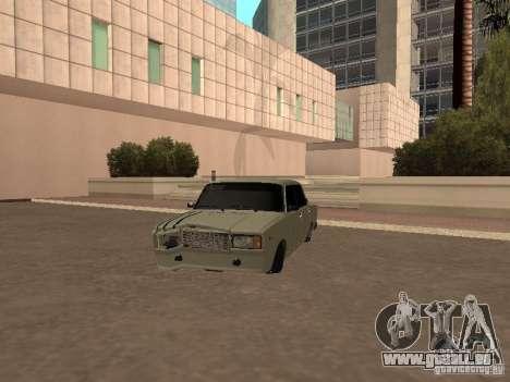 VAZ 2107 gebrochen für GTA San Andreas linke Ansicht