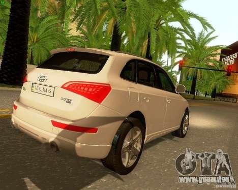 Audi Q5 pour GTA San Andreas moteur