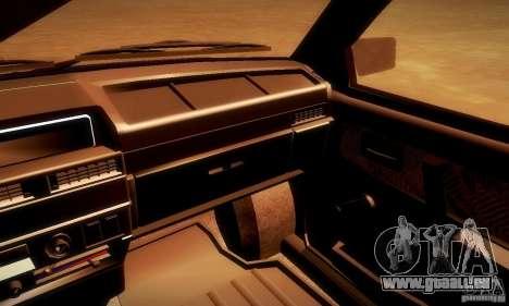 VAZ 2108 v2.0 pour GTA San Andreas vue de droite