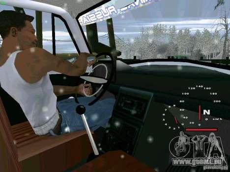 IZH-27151 für GTA San Andreas zurück linke Ansicht