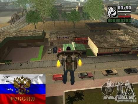 Magasins russes derrière la maison de CJ pour GTA San Andreas