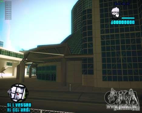 HUD de Silvestro pour GTA San Andreas