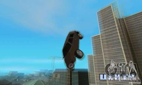 Jemala pour GTA San Andreas vue de côté