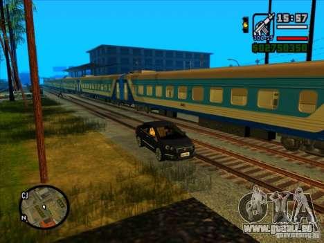 Long train pour GTA San Andreas cinquième écran