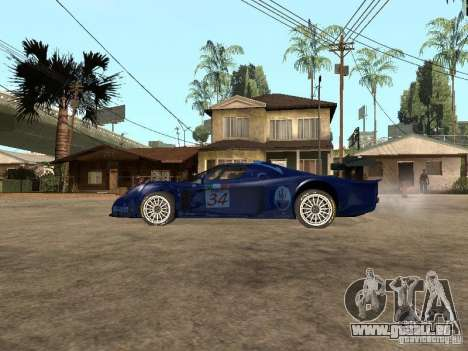Maserati MC 12 GTrace pour GTA San Andreas laissé vue