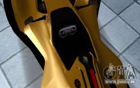 BAC Mono pour GTA San Andreas vue arrière