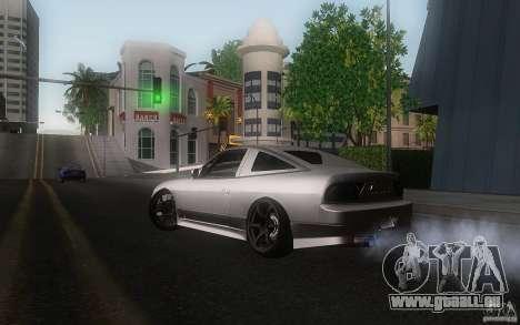 Nissan 180sx v2 pour GTA San Andreas sur la vue arrière gauche