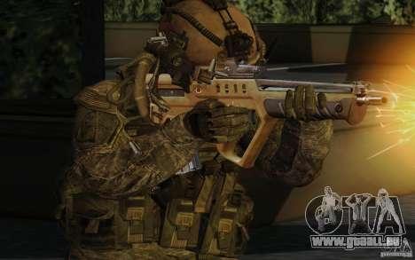 Tavor Tar-21 Desert für GTA San Andreas zweiten Screenshot