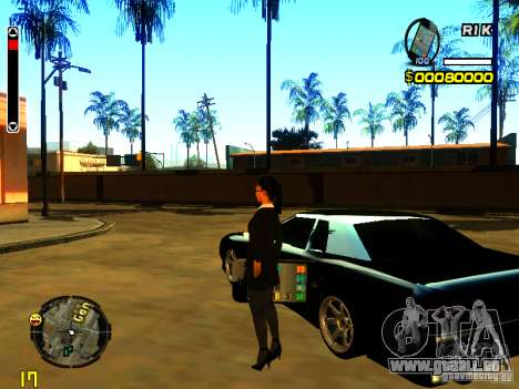 IPhone Garnet v2 für GTA San Andreas zweiten Screenshot