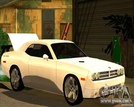 Cadre magnifique ENBSeries pour GTA San Andreas quatrième écran
