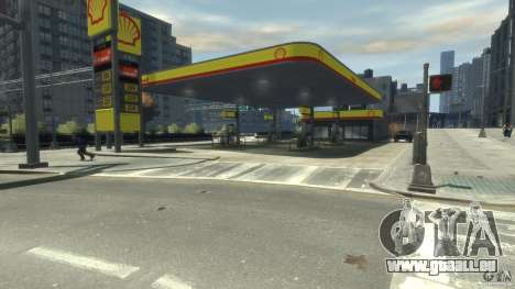 Shell Petrol Station für GTA 4