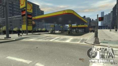 Shell Petrol Station für GTA 4