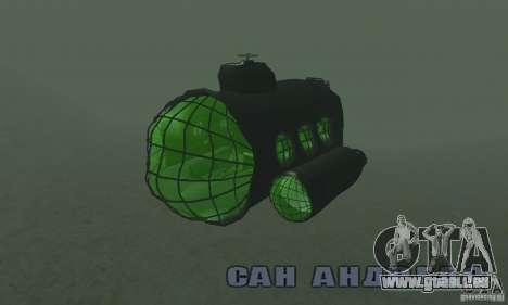 Sous-marin pour GTA San Andreas