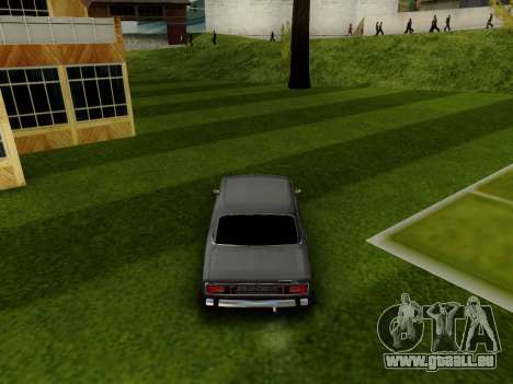 VAZ 2106 für GTA San Andreas Innenansicht