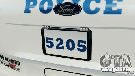 Ford Explorer NYPD ESU 2013 [ELS] pour le moteur de GTA 4