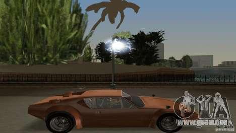 De Tomaso Pantera für GTA Vice City Rückansicht