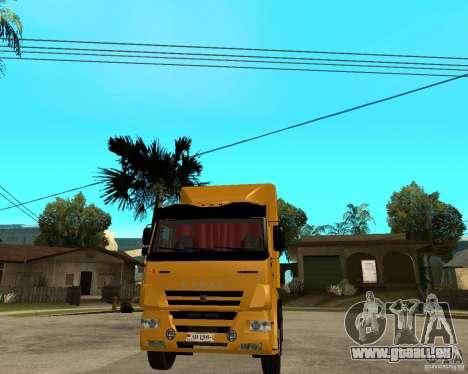 KAMAZ 5460M TAI version 1.5 pour GTA San Andreas vue arrière