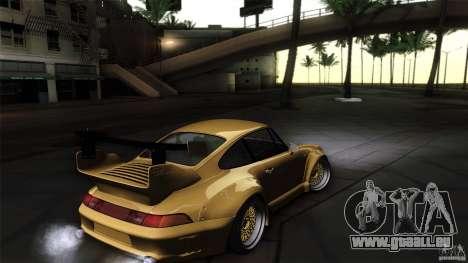 Porsche 993 RWB für GTA San Andreas Innenansicht