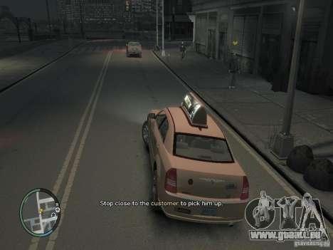 La Mission du chauffeur de taxi pour GTA 4 pour GTA 4 quatrième écran