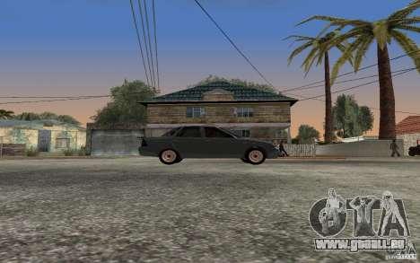 LADA Priora leichte tuning für GTA San Andreas zurück linke Ansicht