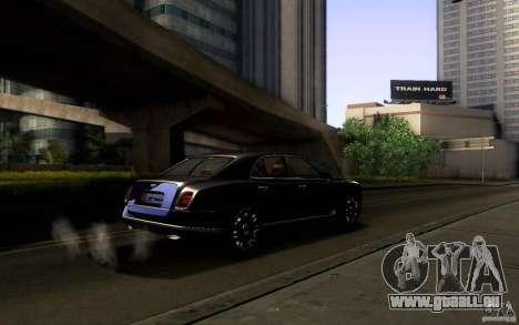Bentley Mulsanne 2010 v1.0 für GTA San Andreas Räder