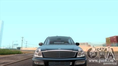 SsangYong Rexton 2005 für GTA San Andreas Innen