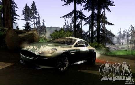 Aston Martin Virage V1.0 für GTA San Andreas zurück linke Ansicht