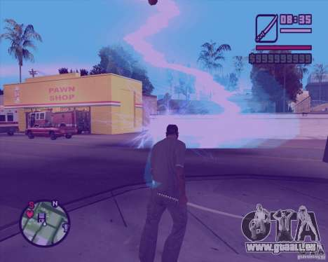Chidory Mod für GTA San Andreas her Screenshot