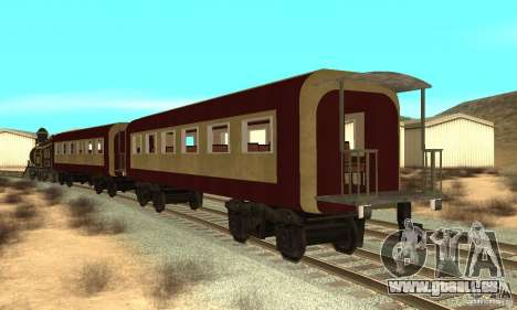 Lokomotive für GTA San Andreas zurück linke Ansicht