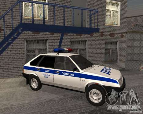 VAZ 2109 DPS pour GTA San Andreas