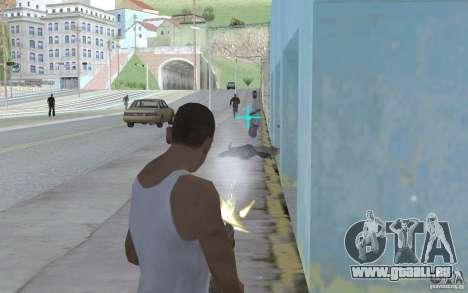 Blaue Augen für GTA San Andreas