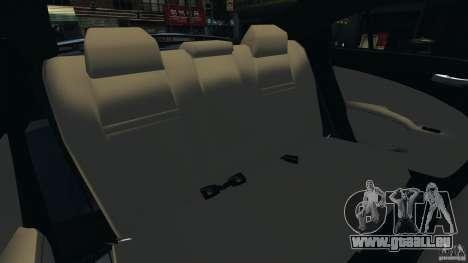 Dodge Charger SRT8 2012 v2.0 pour GTA 4 est un côté