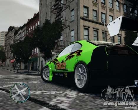 Nissan Silvia pour GTA 4 est un droit