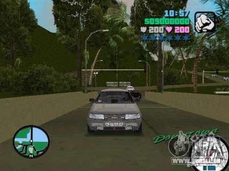 VAZ-2112 für GTA Vice City zurück linke Ansicht