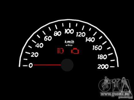 Tachometer 1.0 für GTA San Andreas