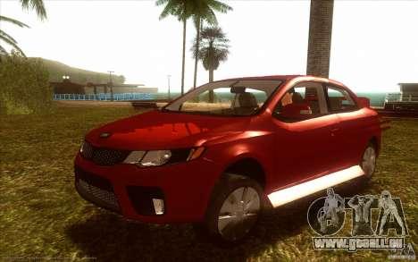 Kia Rio für GTA San Andreas