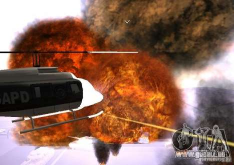 Neue Auswirkungen von Explosionen für GTA San Andreas sechsten Screenshot
