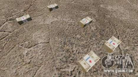 L'encours des billets en coupures de 50 $ aux Ét pour GTA 4 troisième écran