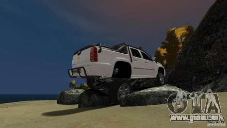 Chevrolet Avalanche 4x4 Truck pour GTA 4 est un droit