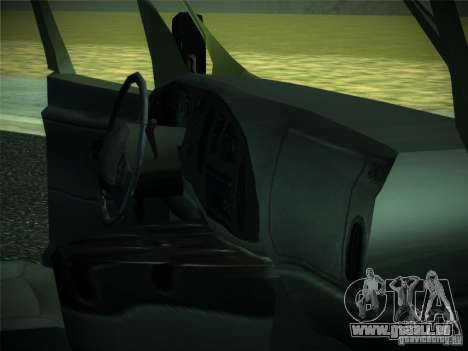 Ford E150 2000 pour GTA San Andreas vue arrière