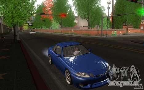 Lexus SC300 für GTA San Andreas Rückansicht