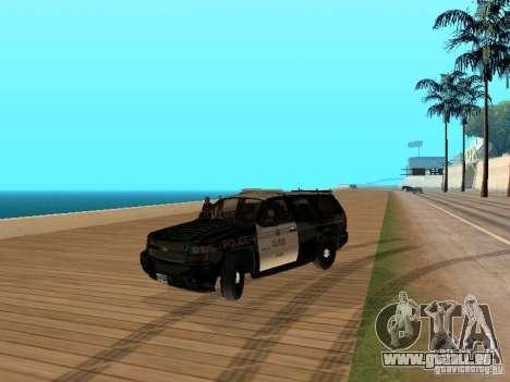Chevrolet Tahoe Ontario Highway Police für GTA San Andreas