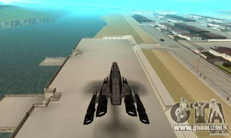 S.S.V. NORMANDY-SR 2 pour GTA San Andreas vue arrière