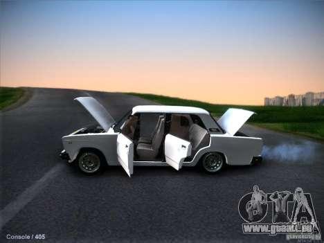VAZ 2105 Lager Qualität für GTA San Andreas Rückansicht