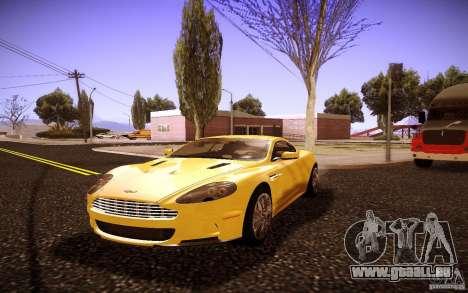Aston Martin DBS pour GTA San Andreas sur la vue arrière gauche