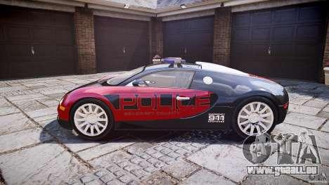Bugatti Veyron 16.4 Police [EPM/ELS] pour GTA 4 est une gauche