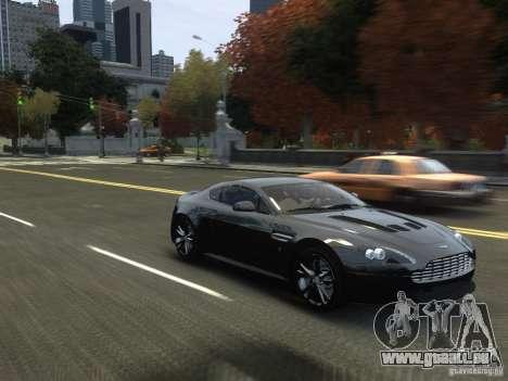 Aston Martin V12 Vantage 2010 V.2.0 pour GTA 4 est une vue de l'intérieur