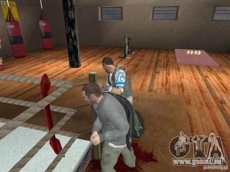 Le système de combat de GTA IV pour GTA San Andreas troisième écran